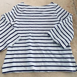 Old navy navy white top